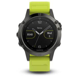 Garmin fénix 5 Gray + Yellow band