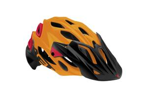 MET Parabellum HES Matt orange/red L 59-62cm